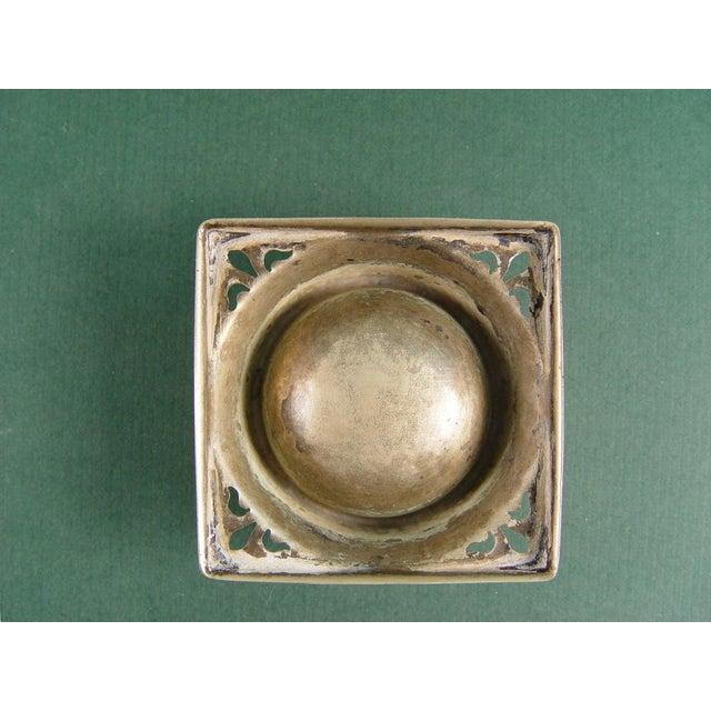 Vintage English Tea Strainer & Stand - Image 5 of 7