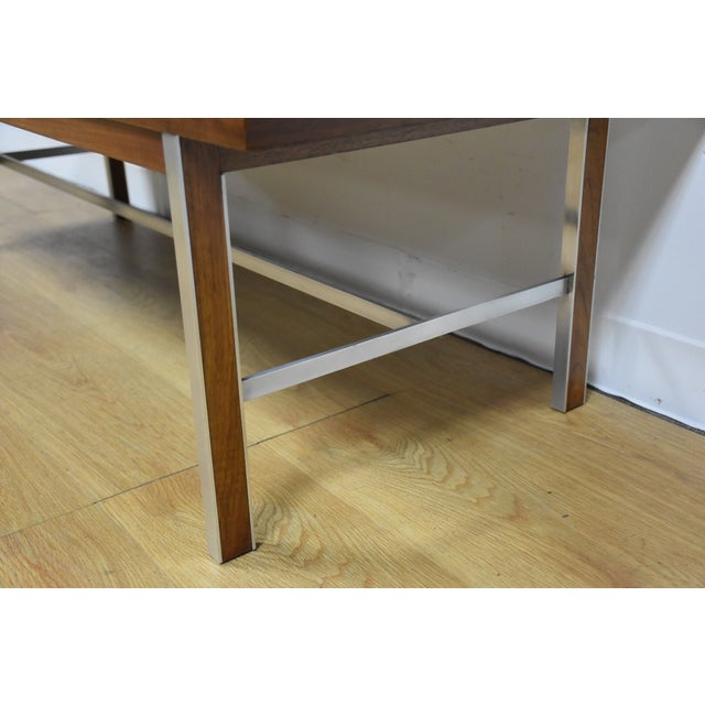 Paul McCobb for Calvin Walnut Coffee Table - Image 7 of 8