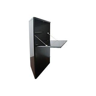 Contemporary Drop-Front Corner Bar