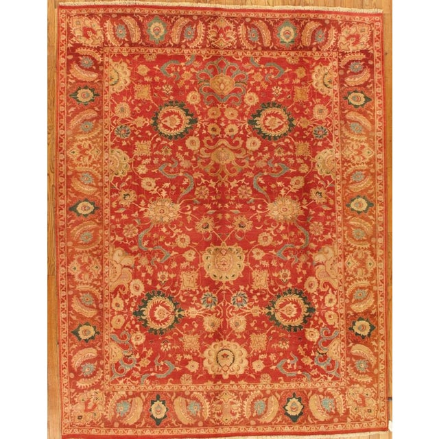 Pasargad Agra Oriental Wool Area Rug - 9'x12' - Image 2 of 2