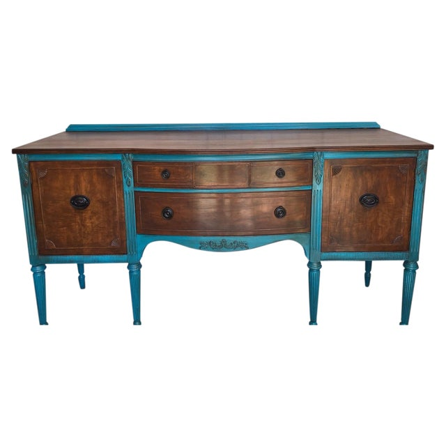 1900's European Antique Sideboard - Image 1 of 9