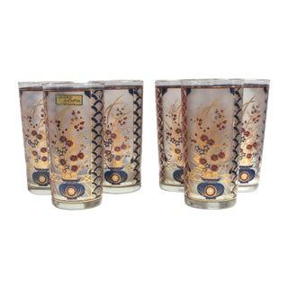 Culver Highball Bar Glasses - Set of 6