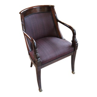 Vintage Empire Style Arm Chair