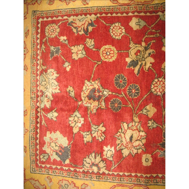Turkish Oushak Rug 5 3 X 9 10 Chairish