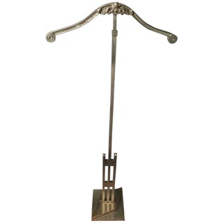 Adjustable Art Deco Adjustable Display Valet Stand