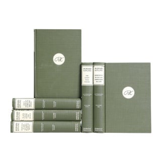 Kipling Selections in Green & White - Set of 6