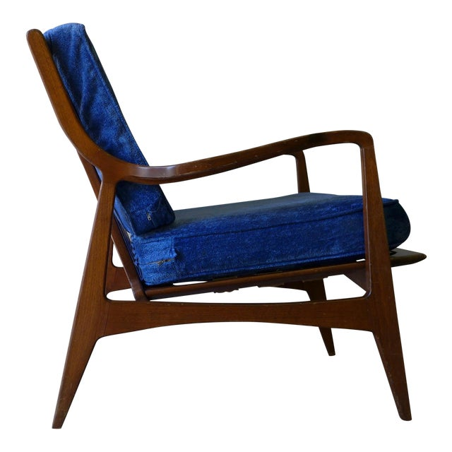 Norwegian Mid Century Modern Lounge Chair - Image 1 of 6