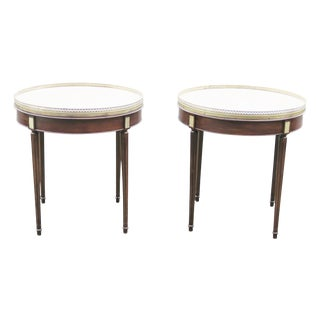 Empire Marbletop Stands - A Pair