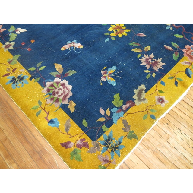 Chinese Art Deco Rug, 9' x 11'9'' - Image 6 of 9