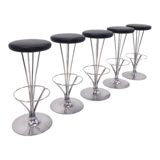 Piet Hein for Fritz Hansen Bar Stools