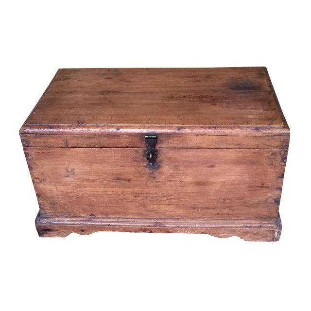 Antique French Trunk - Image 1 of 11