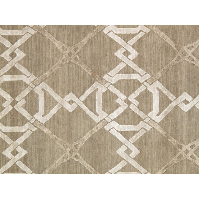 Pasargad Modern Silk & Wool Rug - 8′1″ × 10′1″ - Image 2 of 4