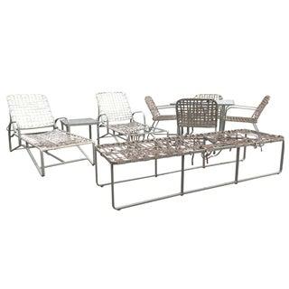Original Brown Jordan Outdoor Furniture -Set of 10