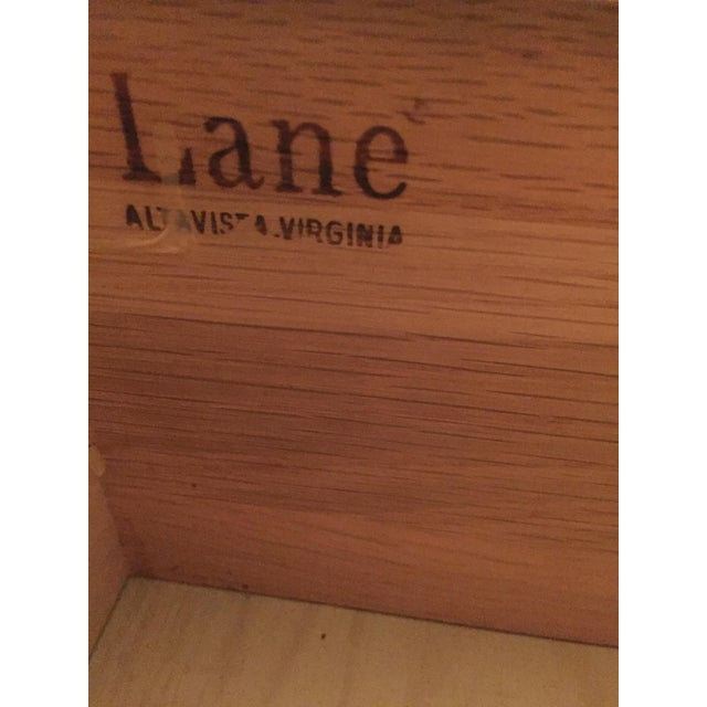 Image of Lane Campaign Style Side Table/Night Table