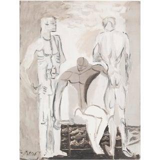 "Robert Amft, ""Figure Study"""