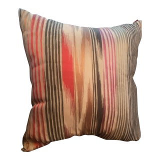 Missoni Silk Mettalic Nantes Multicolor Large Pillow