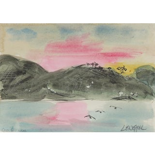 """Baja Sunset"" Original Painting by Laura Lengyel"