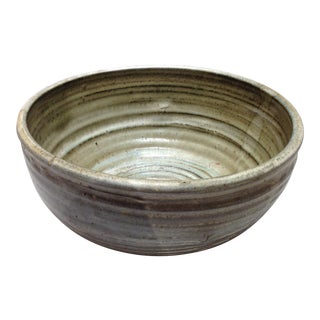 Large Handmade Pottery Bowl