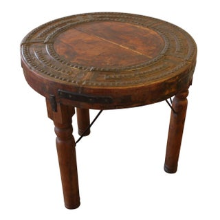 Three Legged Indonesian Solid Wood Stool