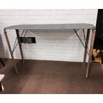 Image of Industrial Hand-Crafted Steel & Fir Wood Console Table