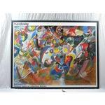 Image of Vintage Monumental Kandinsky Framed Print