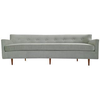 Danish Modern Curved Back Sofa
