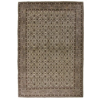 Vintage Turkish Kayseri Carpet - 4'10 X 7'3