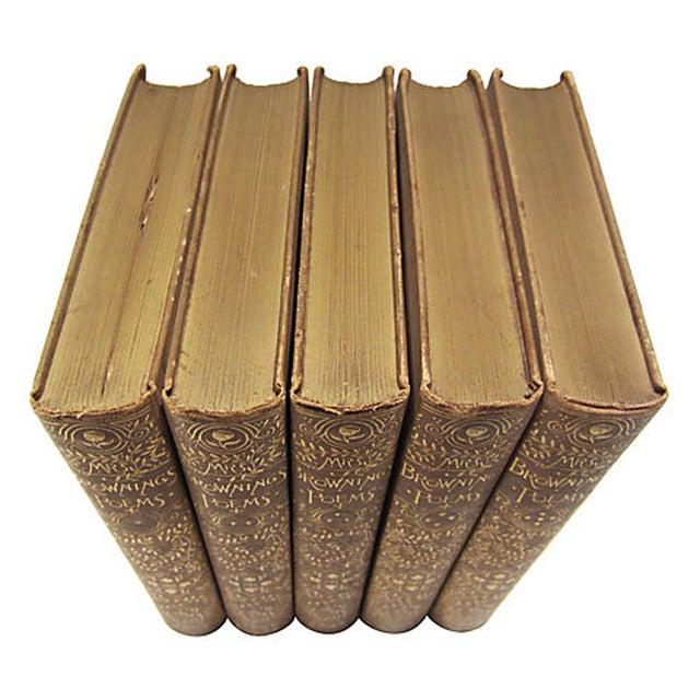 Elizabeth Barrett Browning Poetry - 5 Volumes - Image 4 of 7
