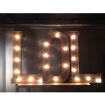 "Image of Industrial ""L.O.L"" Light Up Sign"