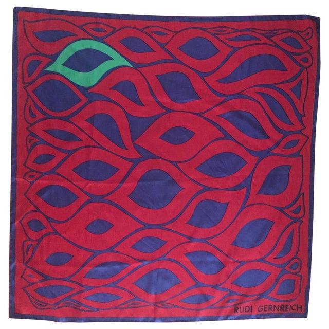 Designer Rudi Gernreich Silk Scarf - Image 1 of 7