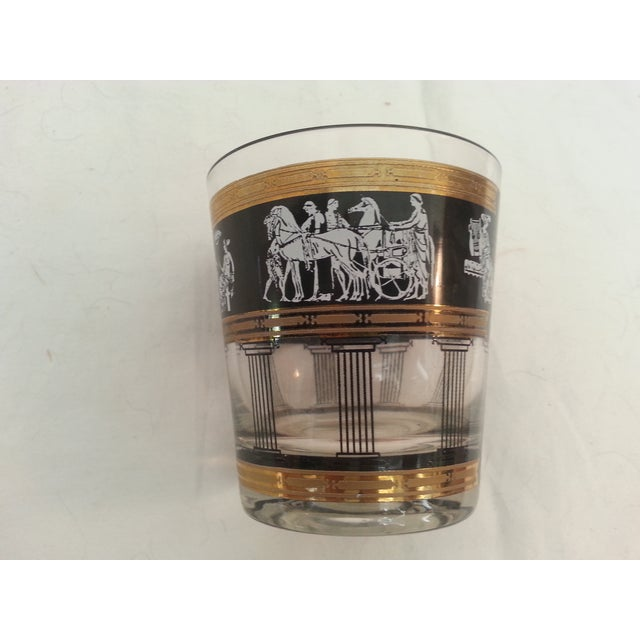 Image of Romanesque Scene Drinking Glasses - Set of 8