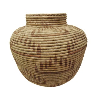 Vintage Indian Tribal Basket