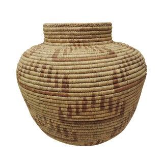 Vintage Indian Tribal Basket