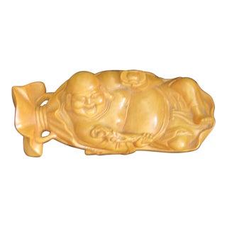 Mid-Century Wooden Buddha