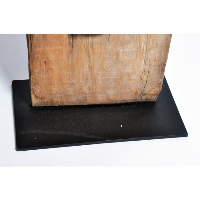 Carved Wooden Door Panel on Stands - Image 8 of 11