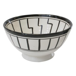 Tapis Design Black & White Cereal Bowl