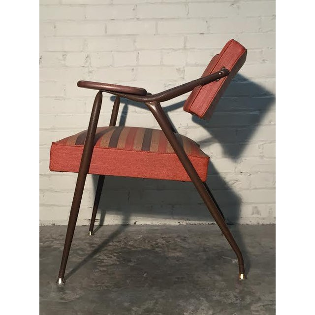 Viko by Baumritter Mid-Century Modern Lounge Chair - Image 8 of 11