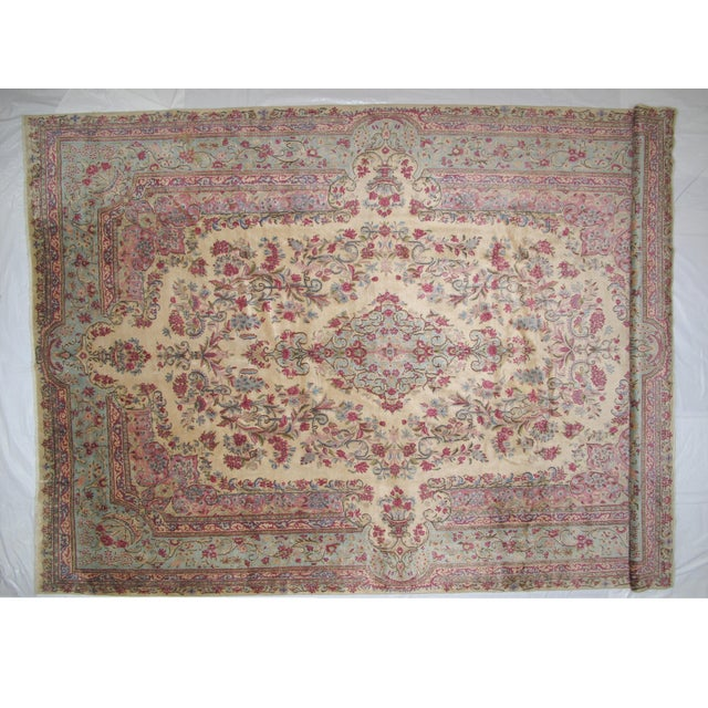 "Leon Banilivi Lavar Kerman Carpet - 9'7"" X 14'4"" - Image 2 of 6"