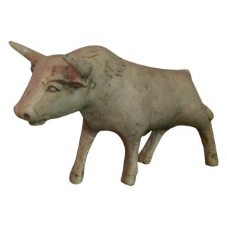 Antique Ox Figure