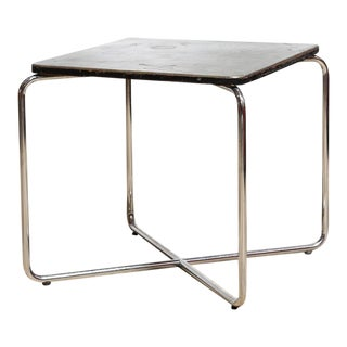 Circa 1930 Marcel Breuer Occasional Table for Bigla