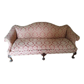 Chippendale Claw Foot Sofa