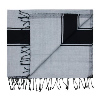 Moroccan Striped Handwoven Throw