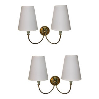 Vintage French Maison Lunel Sconces - Pair