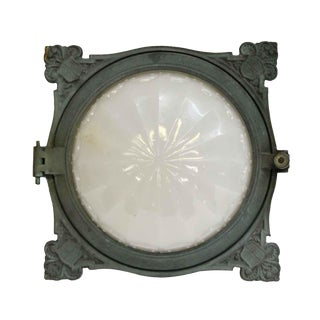 Cast Bronze Recessed Train Light