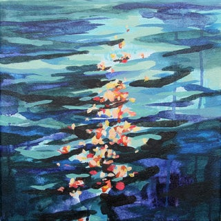Kelly Johnston Float Abstract Painting