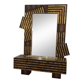 Original Mutrux Shelf Kesler Art Mirror