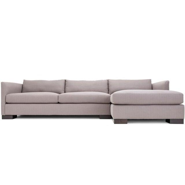 Clad Home Classic Grey Sectional Sofa Chairish