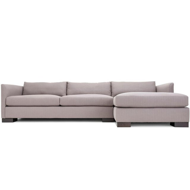 Sectional Sofa Sale Los Angeles: Clad Home Classic Grey Sectional Sofa