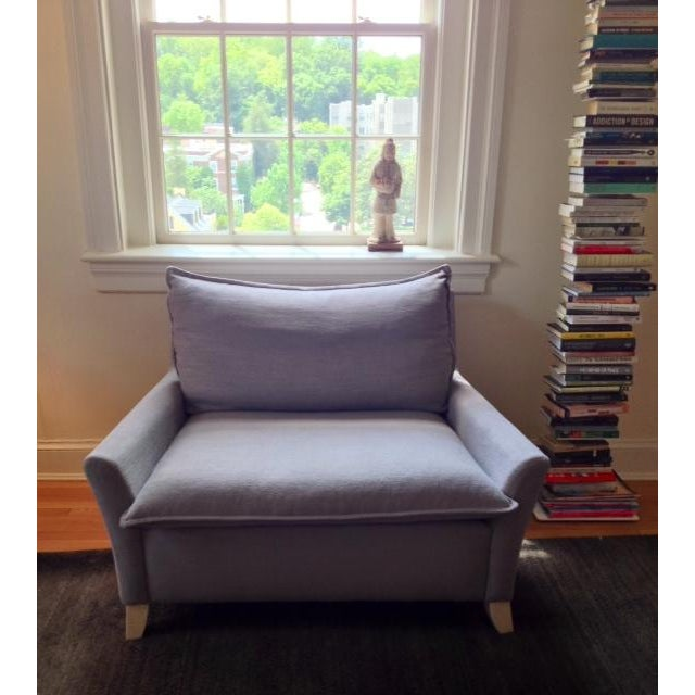 West Elm Bliss Down Filled Chair Chairish