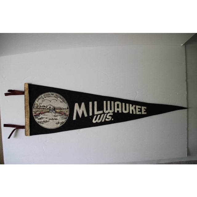 Milwaukee, Wisconsin Pennant - Image 2 of 4